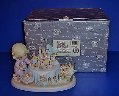 Precious Moments  From The Beginning  25th Anniversary Figurine SIGNED NIB