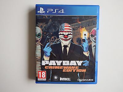 Payday 2: Crimewave Edition on PS4 in VERY GOOD Condition (Disc MINT)