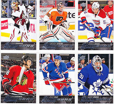 2015-16 Upper Deck Series 2 YOUNG GUNS Lot of 33 Cards SEE LIST Hartman Sparks