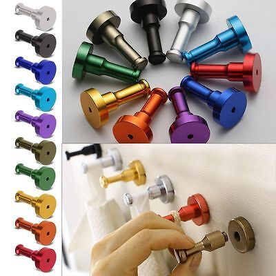 Door Wall Tile Towel Clothes Self-adhesive Hook Hanger Bathroom Kitchen Supplies