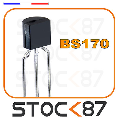 1588# Transistor mosfet BS170 canal N 60v 0,5A