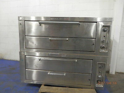 Natural Gas Double Deck Pizza Or Bakery Oven