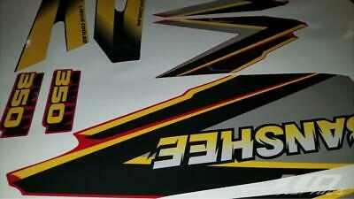 yamaha banshee full graphics decals kit 1999