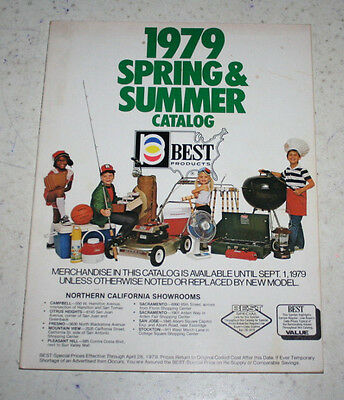 1979 Best Products Spring & Summer Catalog