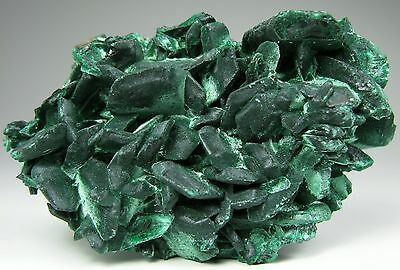 New find MALACHITE after Azurite crystals * Touissit * Morocco