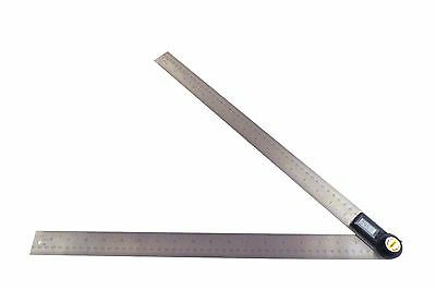 "Taytools 500 mm 20"" Digital Protractor Goniometer Angle Finder Stainless 114115"