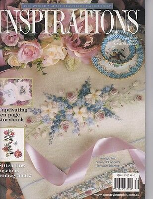 Inspirations 39 Country Bumpkin Embroidery  Multi-size Sewing Patterns