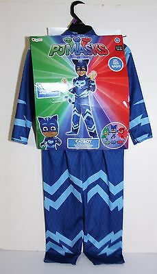 Disguise Catboy Deluxe Toddler PJ Masks Costume Small 2T - Mask, Tail