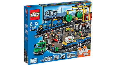 LEGO 60052 City Cargo Train - Brand New In Sealed Box + 2 Free Gifts!!