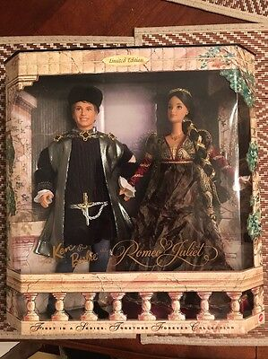 Ken & Barbie As Romeo & Juliet BRAND NEW! Together Forever Collection Limited