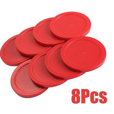 8PCS 63mm Mini Air Hockey  Pucks Children Table Games Entertaining Toys