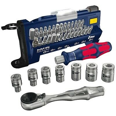 Red Bull Racing Bit Assortment Tool-Check PLUS - 39-Piece Ratchet / Screwdriver