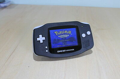 Backlit Backlight Game Boy Advance Console Black New ags 101 New Refurbished GBA