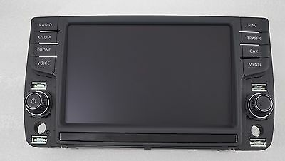 New Oem Vw Discover Pro 8 Inch Display Control Panel 5G0919606 / 5G0 919 606
