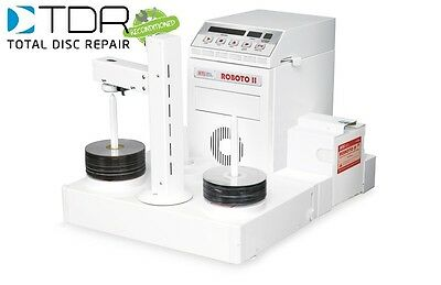 RECONDITIONED TDR Disc-Go-Roboto II 2 DVD/XBOX/PS3 Disc Repair Machine