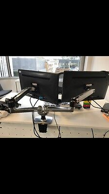 45-245-026 Ergotron LX Dual Side-by-Side Arm - Mounting Kit. Great Condition!