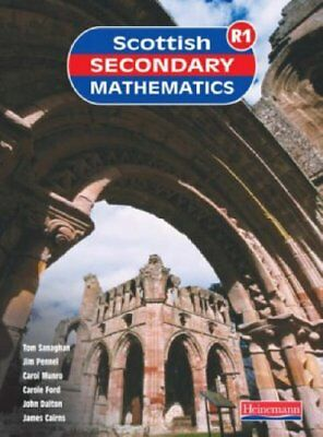 Scottish Secondary Maths Red: Student Book No. 1: S1-1r Stude..., SSMG Paperback