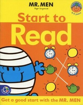 Mr Men Learning: Workbook: Start to Read Hardback Book The Cheap Fast Free Post