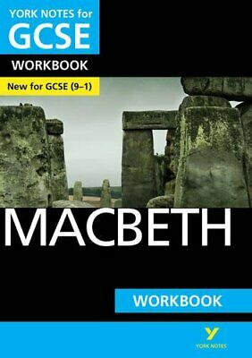 Macbeth: York Notes for GCSE (9-1) Workbook by Gould, Mike Book The Cheap Fast