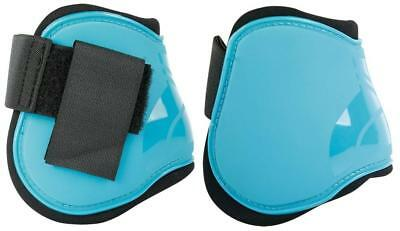 Fetlock Boots - Next in Black, Turquoise