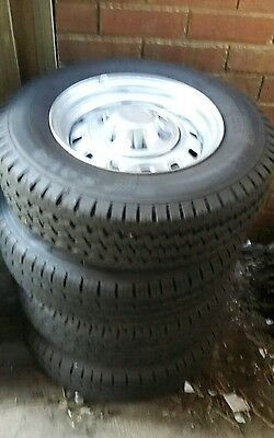Holden Rodeo 6 stud Wheels and Tyres