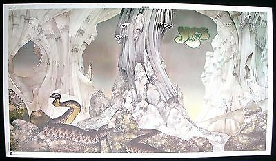 YES Relayer Roger Dean Promo Poster Mint- USA 1974 Original Super RARE LAST ONE!