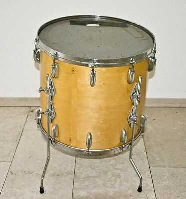 "Gretsch Drums vintage 18 x 18"" maple nature Bj. 1978"