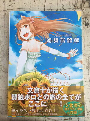 203 pages Rare Spice & Wolf JYUU AYAKURA Illusion Art Book