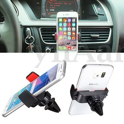 Universal Car Ait Vent Phone Holder Mount Stand For iPhone Samsung Sat Nav GPS