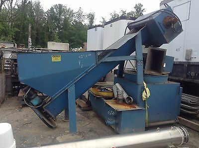 Used Machine Turnings Collant Swarf / Chip Shredder/Centrifuge Processing System