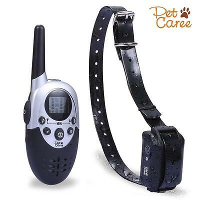 Dog Training Collar Rechargeable and Waterproof 1100Y Remote Shock with...