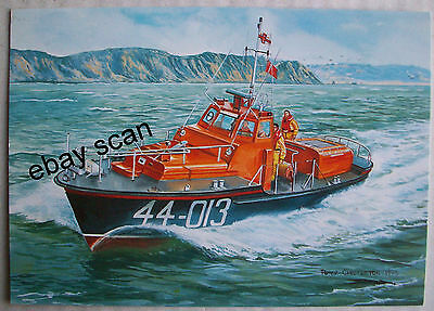 RNLB 'THOMAS JAMES KING' ST HELIER WAVENEY CLASS 44-013/O.N.1034~LTD Ed ART PPC