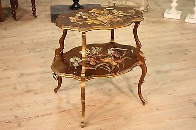 Coffee table furniture painted wood antique style Art Nouveau 900