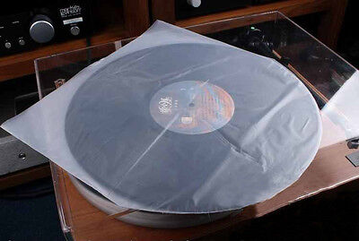 """50pcs/lot LP 12"""" PLASTIC INNER RECORD COVER SLEEVES FOR VINYL ALBUMS PLAYER"""