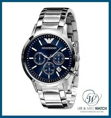 Brand NEW Men's Emporio Armani Renato Chronograph Watch-AR2448-RRP £299