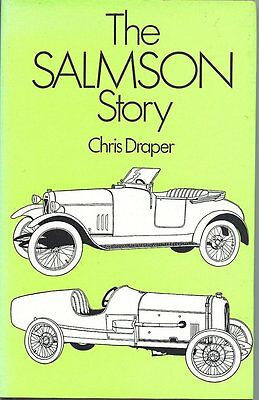 The Salmson Story by Chris Draper 1974 ed. David & Charles GOOD CONDITION