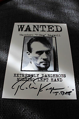 "ROBERT KNEPPER signed Autogramm auf 20x28 cm ""PRISON BREAK"" Bild InPerson LOOK"