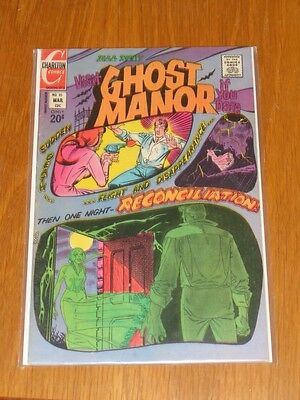 Ghost Manor #10 Fn+ (6.5) Charlton Comics March 1973