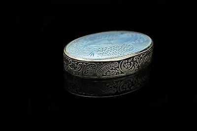 Antique Original Perfect Silver Russian 84 Hallmark Enamel Small Medicine Box