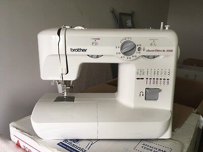 Brother XL 5500 sewing machine