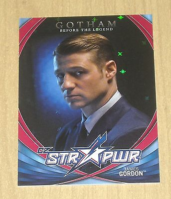 2017 Cryptozoic Gotham season 2 character bio STR PWR RED James Gordon CB02