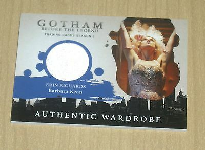 2017 Cryptozoic Gotham season 2 wardrobe costume Erin Richards BARBARA KEAN M18