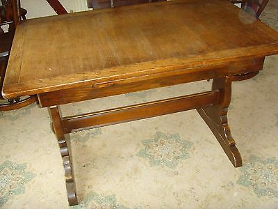 Vintage 'ercol' Extending Refectory Dining Table