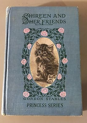 Shireen & Her Friends:  The Life Of A Persian Cat  Gordon Stables Antique Book