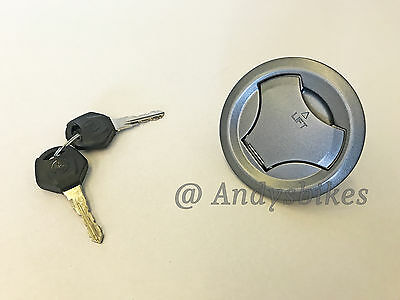 Genuine Petrol Fuel Filler and Cap Keys for Yamaha WR125 WR 125 R X 2009 - 2011