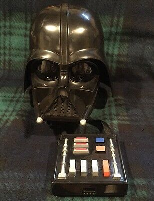 2004 Lucas Film Ltd Talking Darth Vader Mask With Voice Changer!!  Working!!