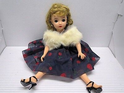 """Vintage Blonde '50s Miss Revlon 18/20"""" Doll w/Tag, Accessories, PRICE REDUCED"""