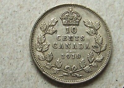 Canada - 10 Cents, 1918