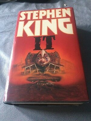 IT by Stephen King (Hardback, 1986) 1st edition 1st print