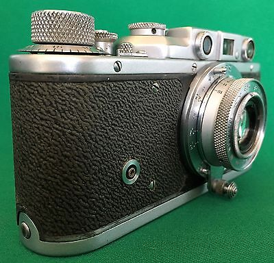 Zorki 1 D (late type) 35mm Russian Rangefinder, RARE! with PC socket.